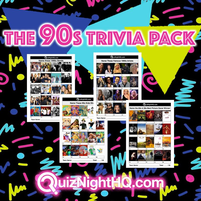 90s trivia package