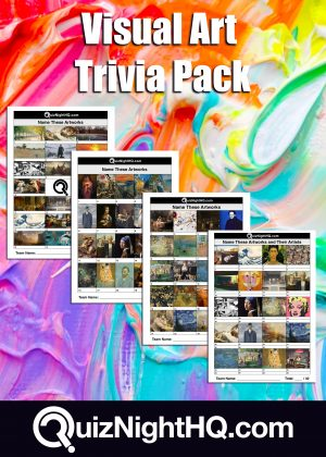 art artists trivia package picture round