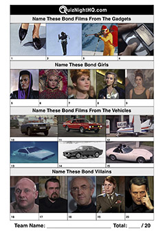 james bond movie trivia jumble mix awesome quiz round