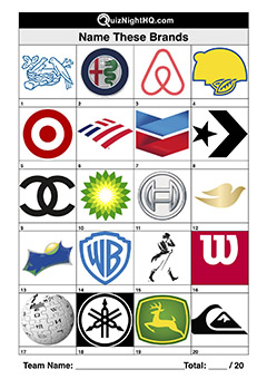 brand logos picture trivia round
