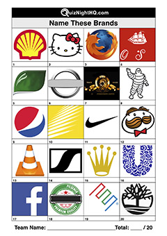 brand logos trivia picture round