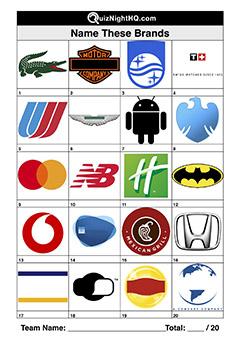 brand logo trivia round picture