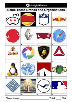 classic logo trivia picture quiz round