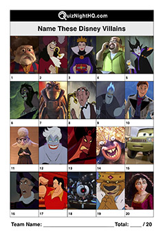 disney villain characters trivia picture round