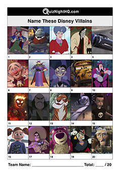 disney villain characters picture trivia round