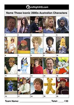 famous australian faces 2000s aussie characters
