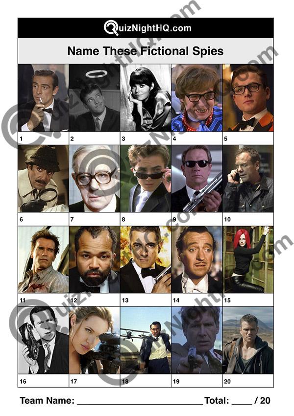 tv movie spies trivia picture round