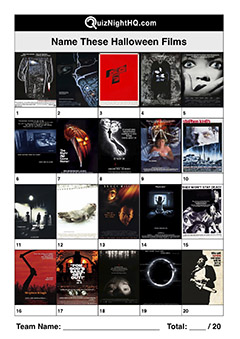 halloween movie posters scary film trivia picture quiz