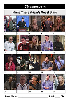 celebrity guest stars picture trivia round