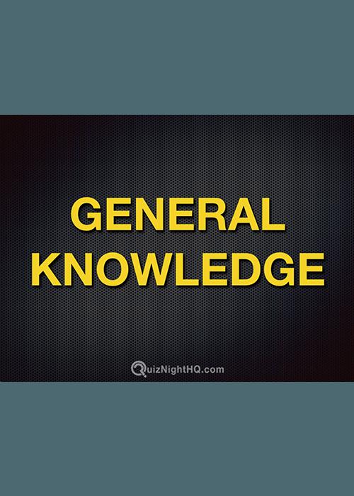 General Knowledge Trivia Round