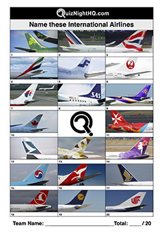 airline logo trivia picture round