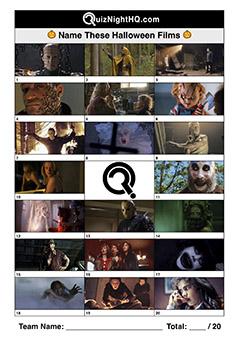 halloween movie stills scary film trivia picture round