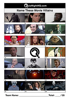 film villains picture trivia round