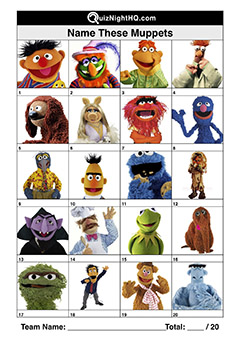 kids muppets picture trivia round