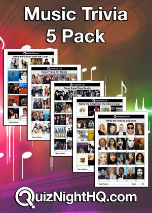 music trivia rounds quiz package