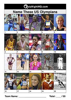 us american olympic hero trivia round