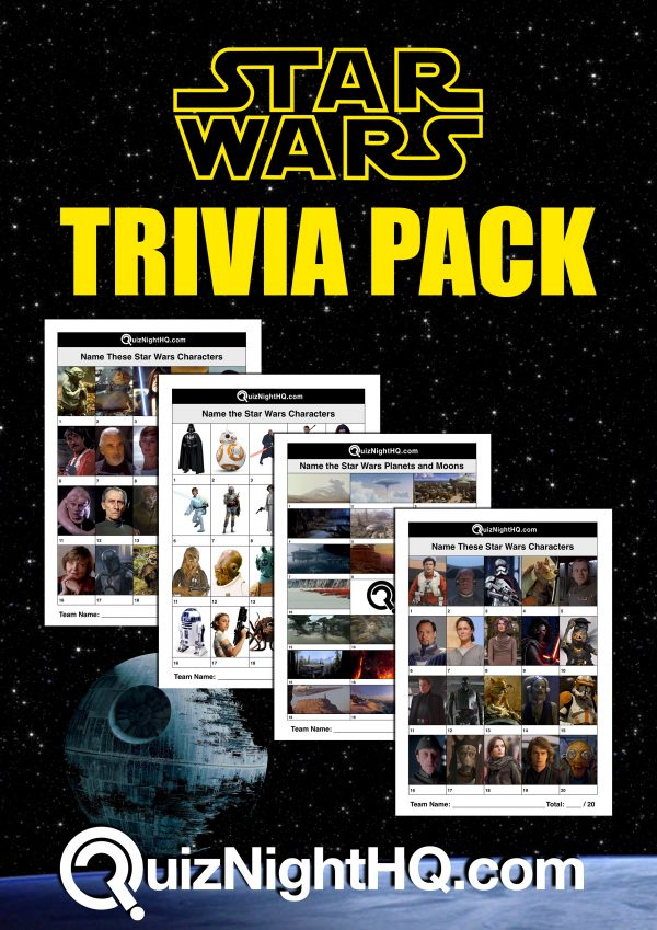 star wars trivia rounds package