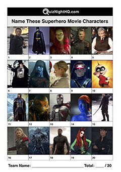 superhero movie characters villain films picture trivia round