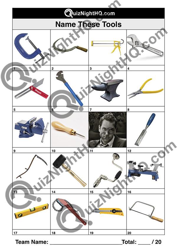 tools trivia quiz picture round