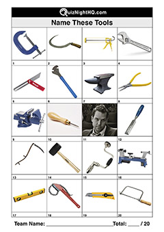 tools trivia quiz picture round