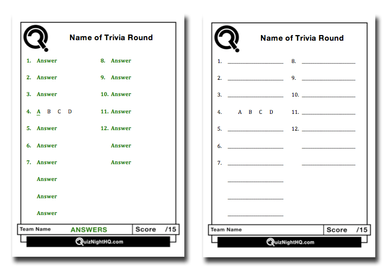 Trivia Score Sheet Template from www.quiznighthq.com