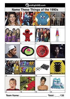trivia 1990s decade trivia picture quiz