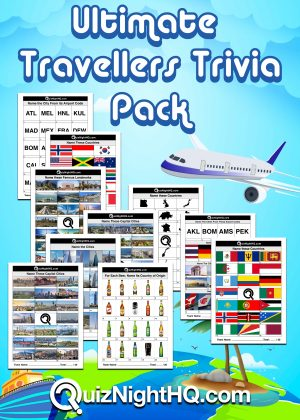 ultimate traveller pack quiz night for world expats