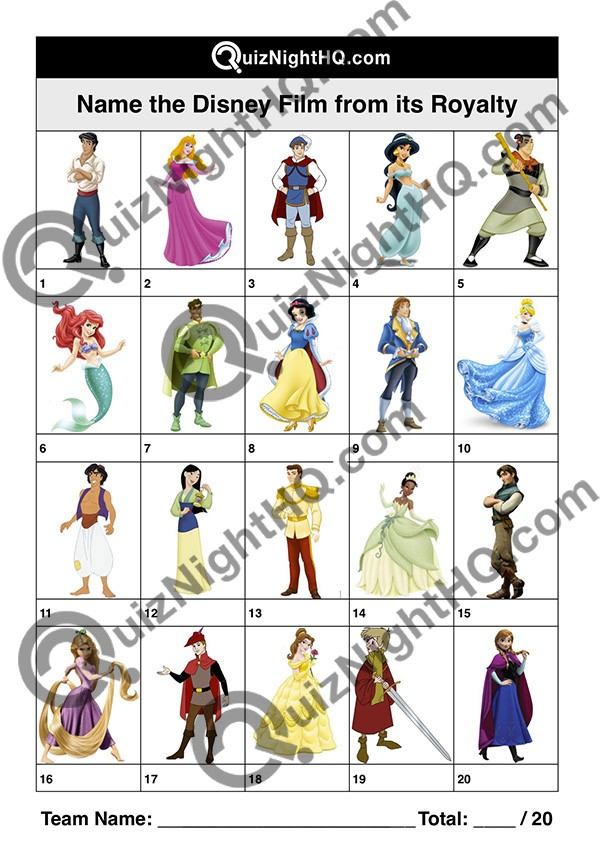 disney characters 002 royalty questions