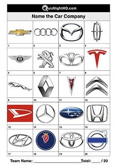 Car Company Logos 001