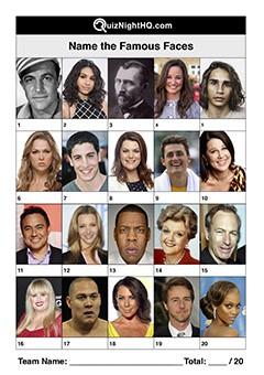 Famous Faces 001
