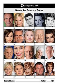 Famous Faces 004