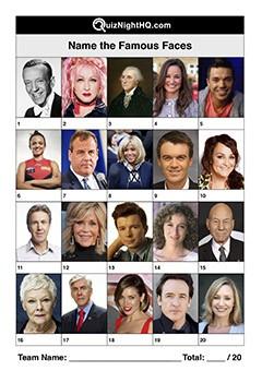 Famous Faces 005