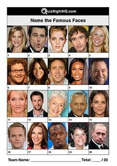 Famous Faces 012
